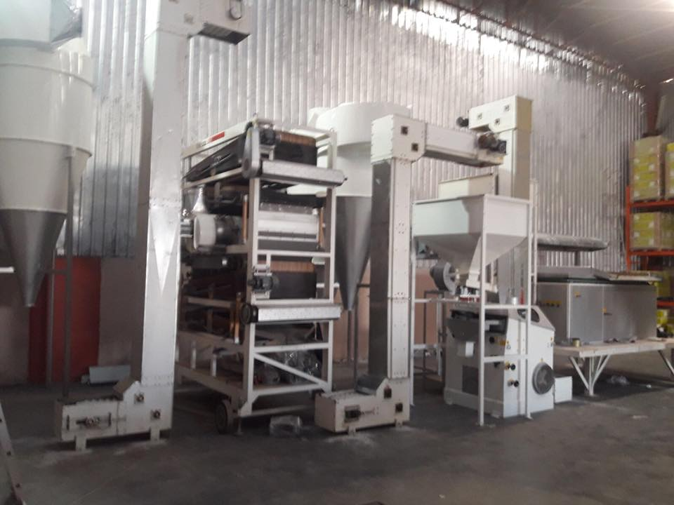 5T / H seed cleaning plant
