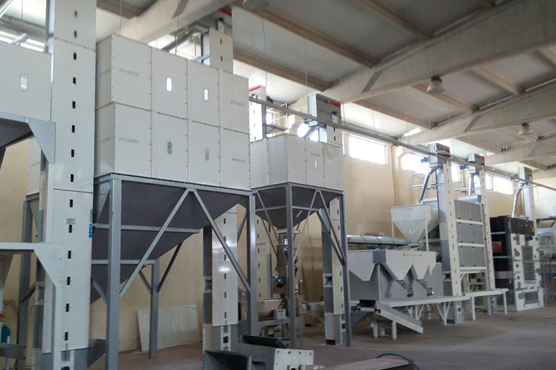 Barley and Wheat Germ Cleaning Facility With a Capacity of 10 Tonnes Per Hour With The