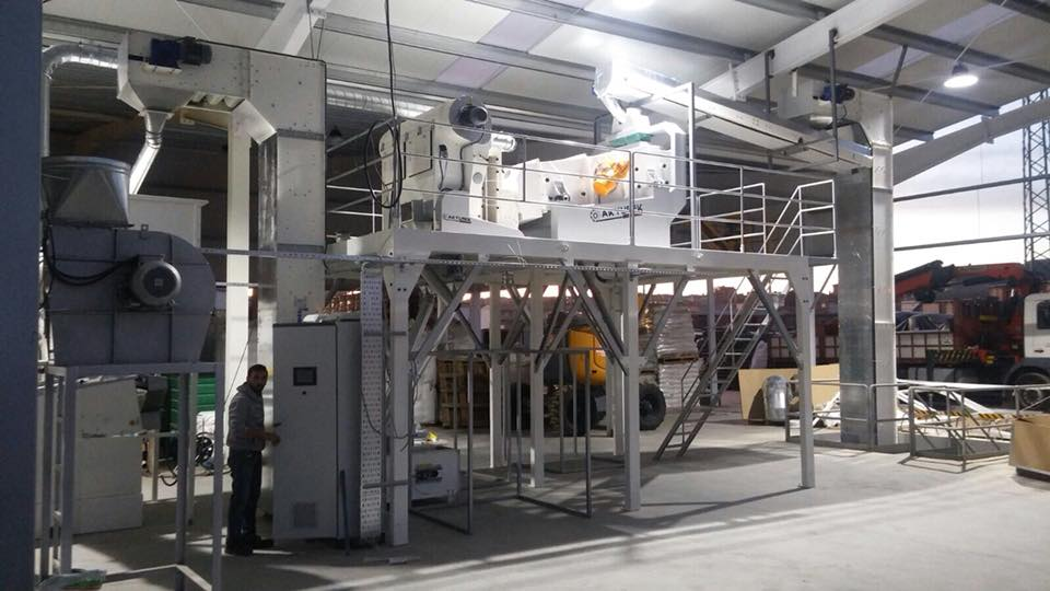 Pea Processing Plants - Akyurek Technology