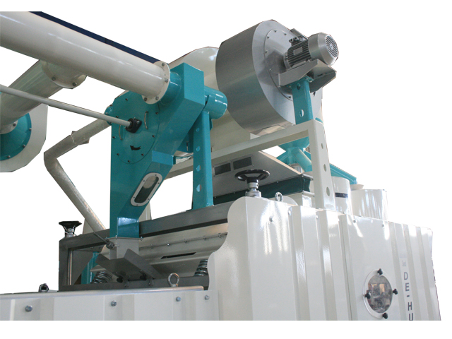Impact De-huller - 4 Mill with Shell Separator