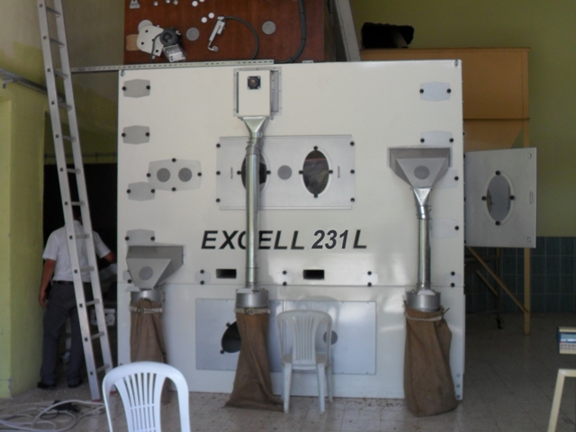 Excell 230 Series Super Flat Screen Graders