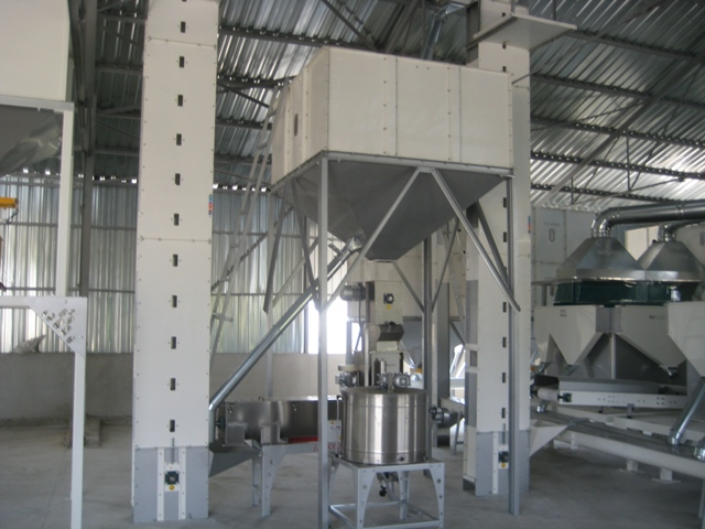 seed treatment machine