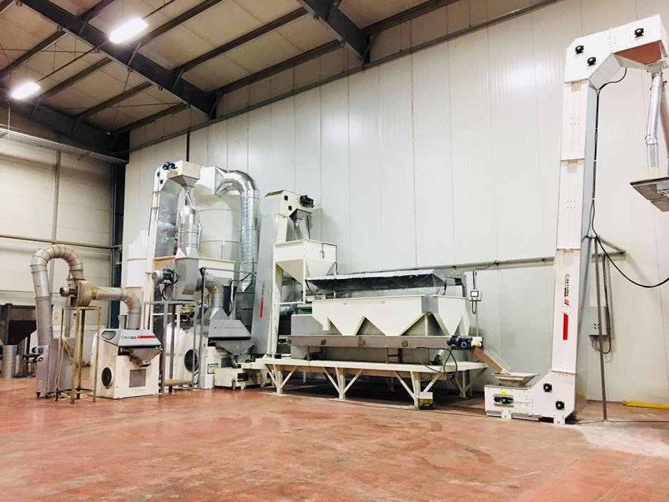 Pistachio Cleaning Plant