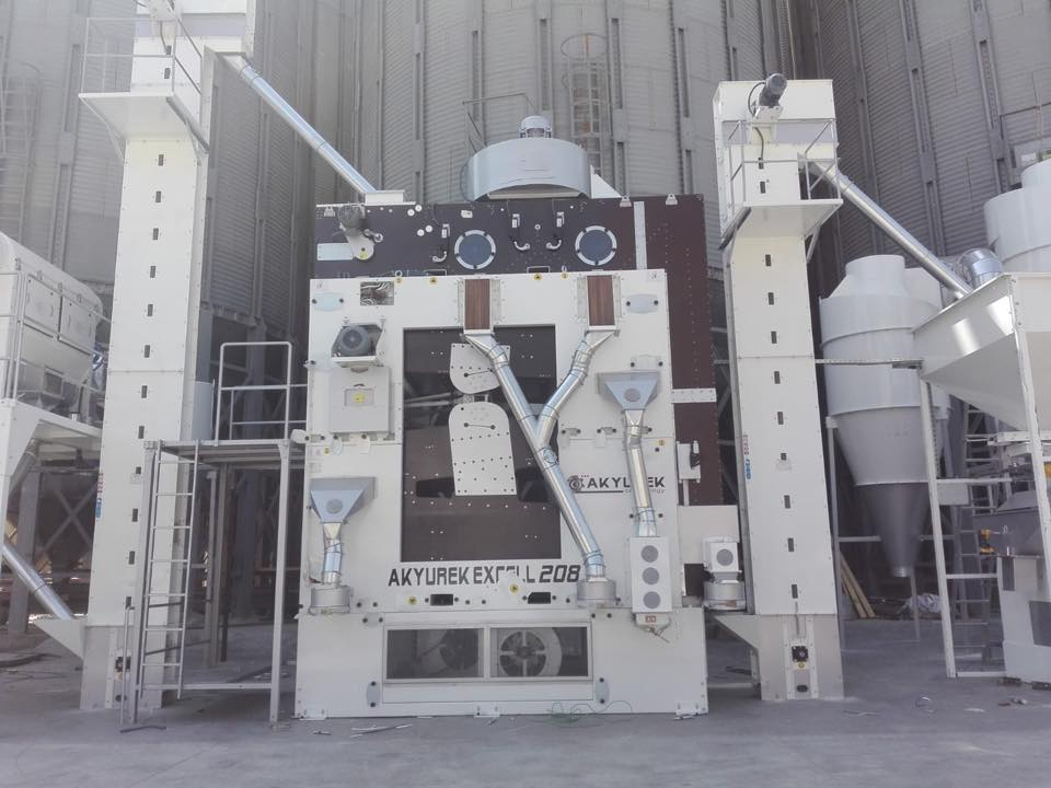 Clover Seed Cleaning Plant