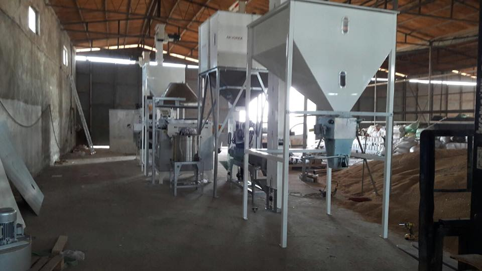 2T/H seed cleaning plant