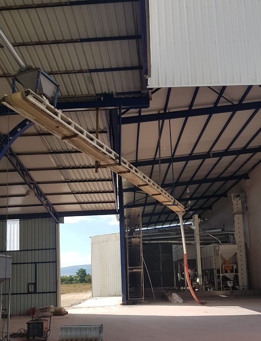 Tripper Belt Conveyor