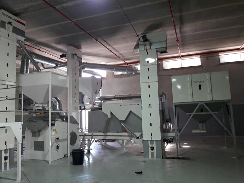 Seasame Cleaning Plant