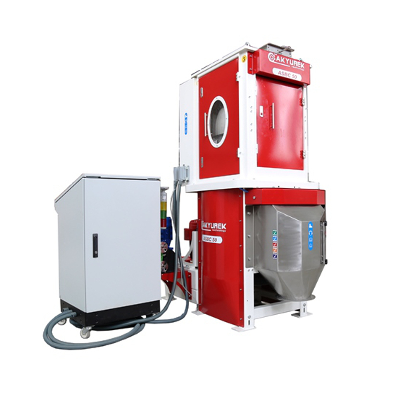 Batch Type Seed Coating Machine