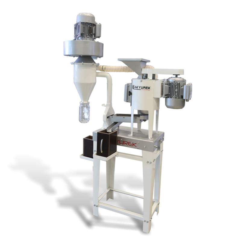 Small Scale Vertical Huller
