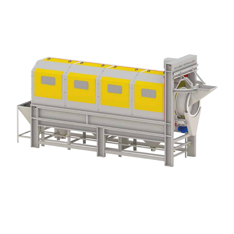 Rotary Drum Seed Cleaner