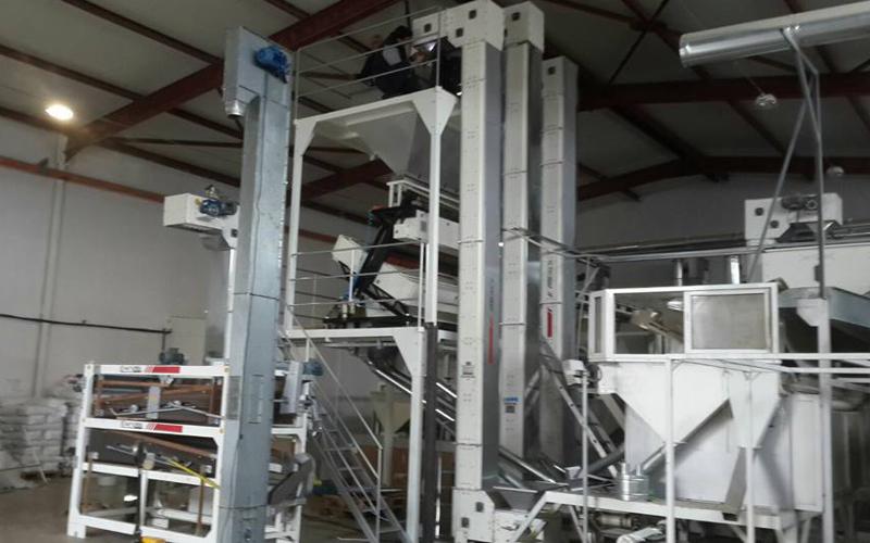 Pumpkin Seed Color Sorturk Machine And Gravity Seperator