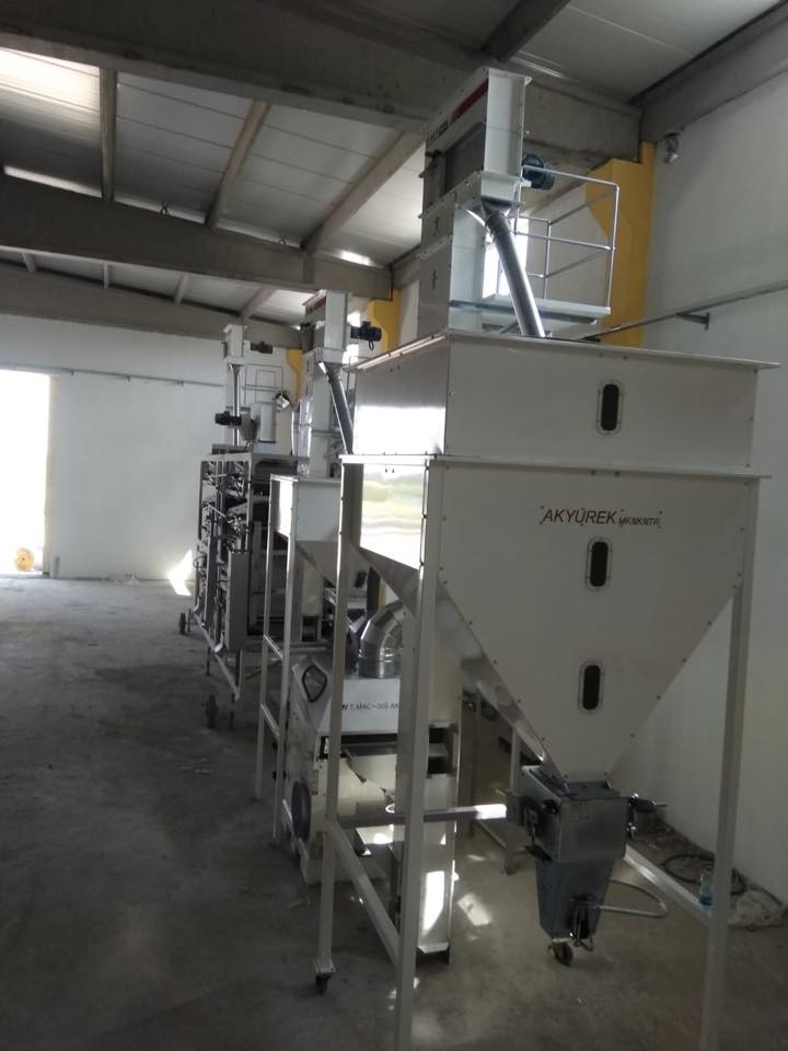 500kg sunflower seeds cleaning plant