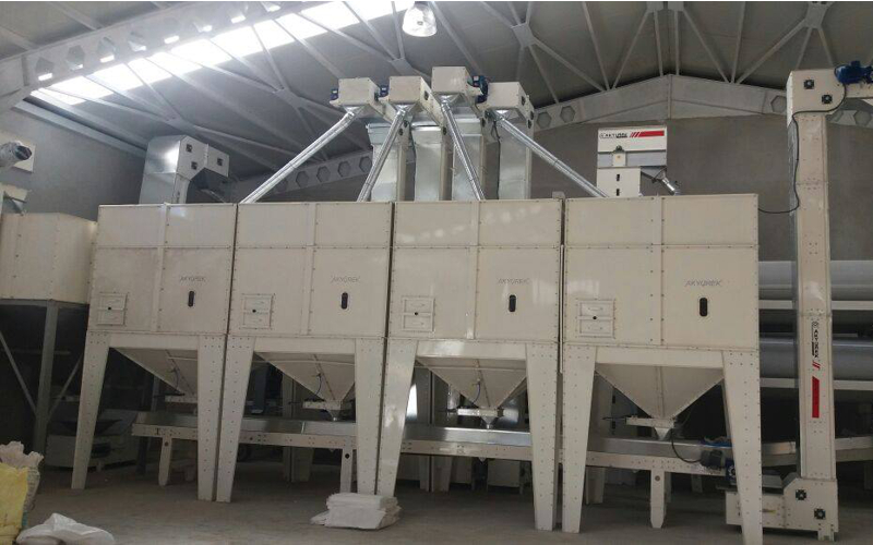 5T/H Wheat Cleaning Plant in Turkey