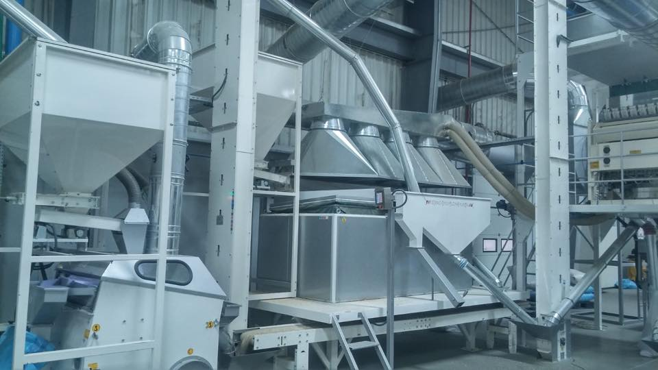 1T/H  Sunflower Seeds Cleaning Plant