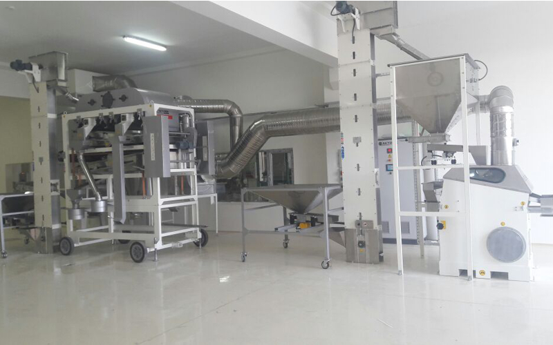 1T/H spices and screening plant