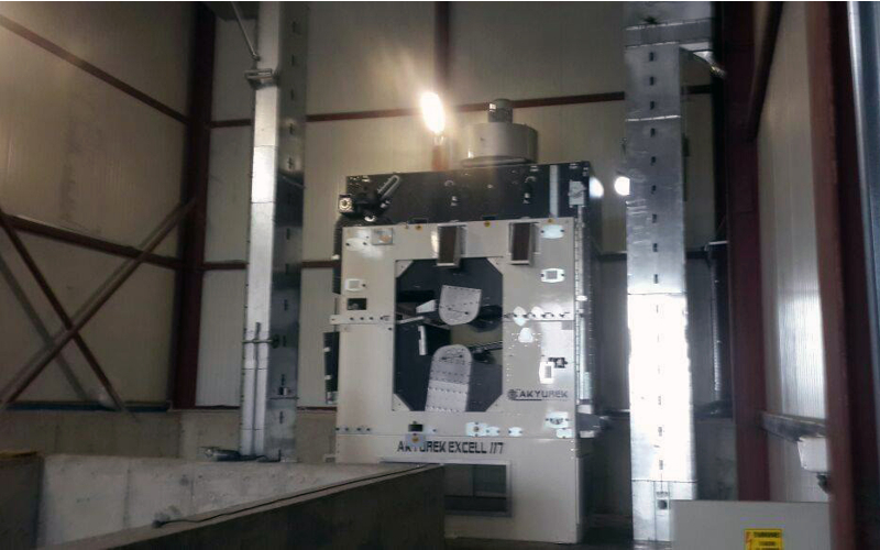 15T/H AkyurekExcell 117 Screening Machine