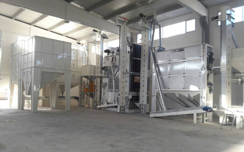 10T/H Capacity Seed screening cleaning plant