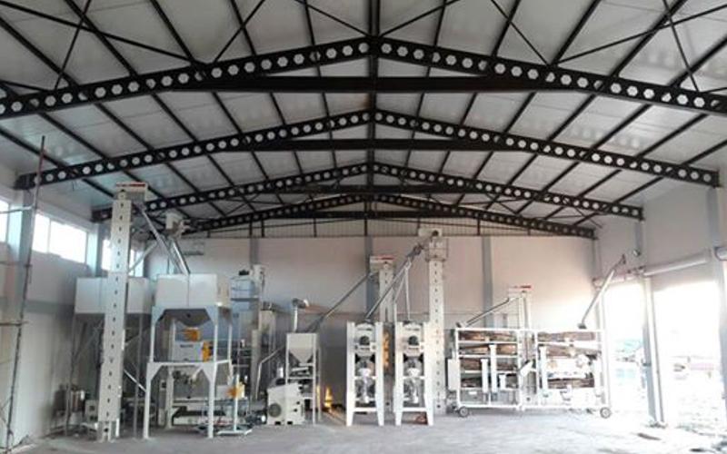 legumes screening facility