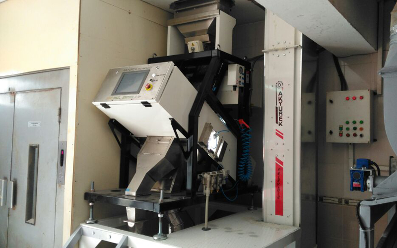 New Generation Sorturk C-1 Colour Sorter machine