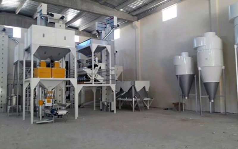 10T/H Seed Cleaning Facility