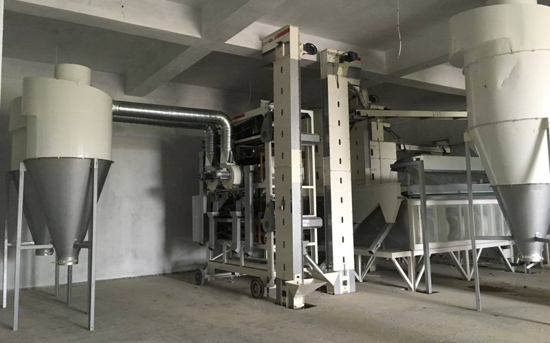1.5T/H Sesame Screening Cleaning facility
