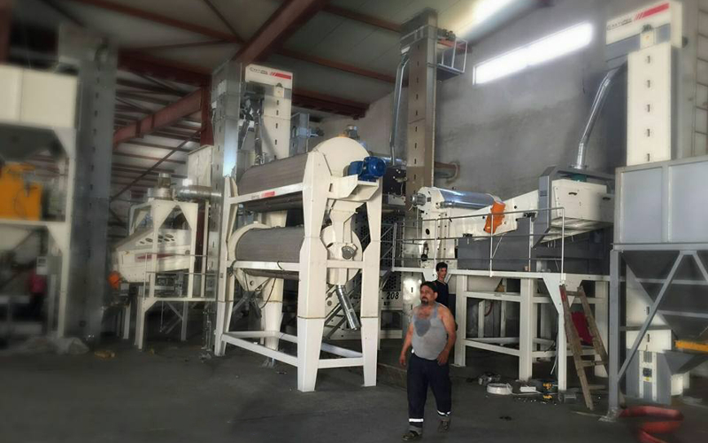 Trieur and Waste Vibratory Machine