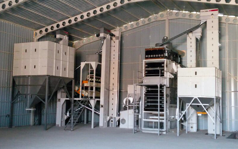 2.5T/H Sunflower Seed Cleaning Facility