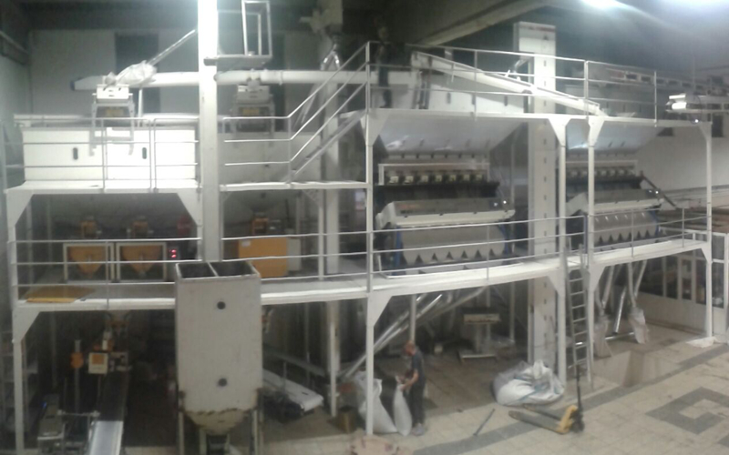 The Sesame Cleaning Plant