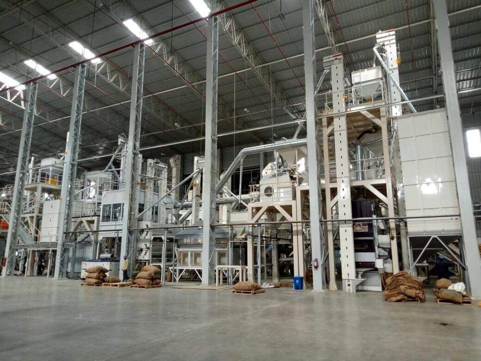 Spice and Coriander Screening Plant - India