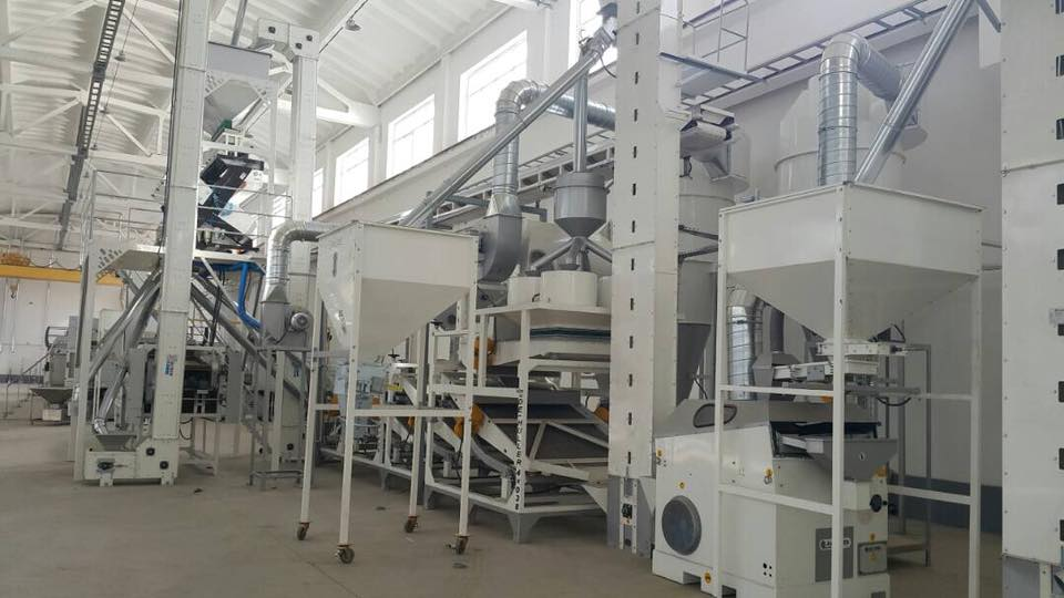 3T/H Sunflower Seeds Cleaning Plant