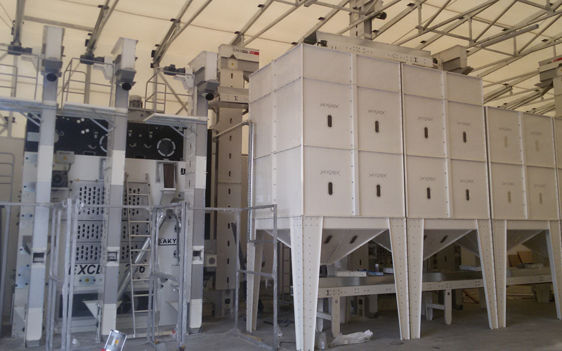 Seed Traders Pulse Seed Cleaning Line in Italy