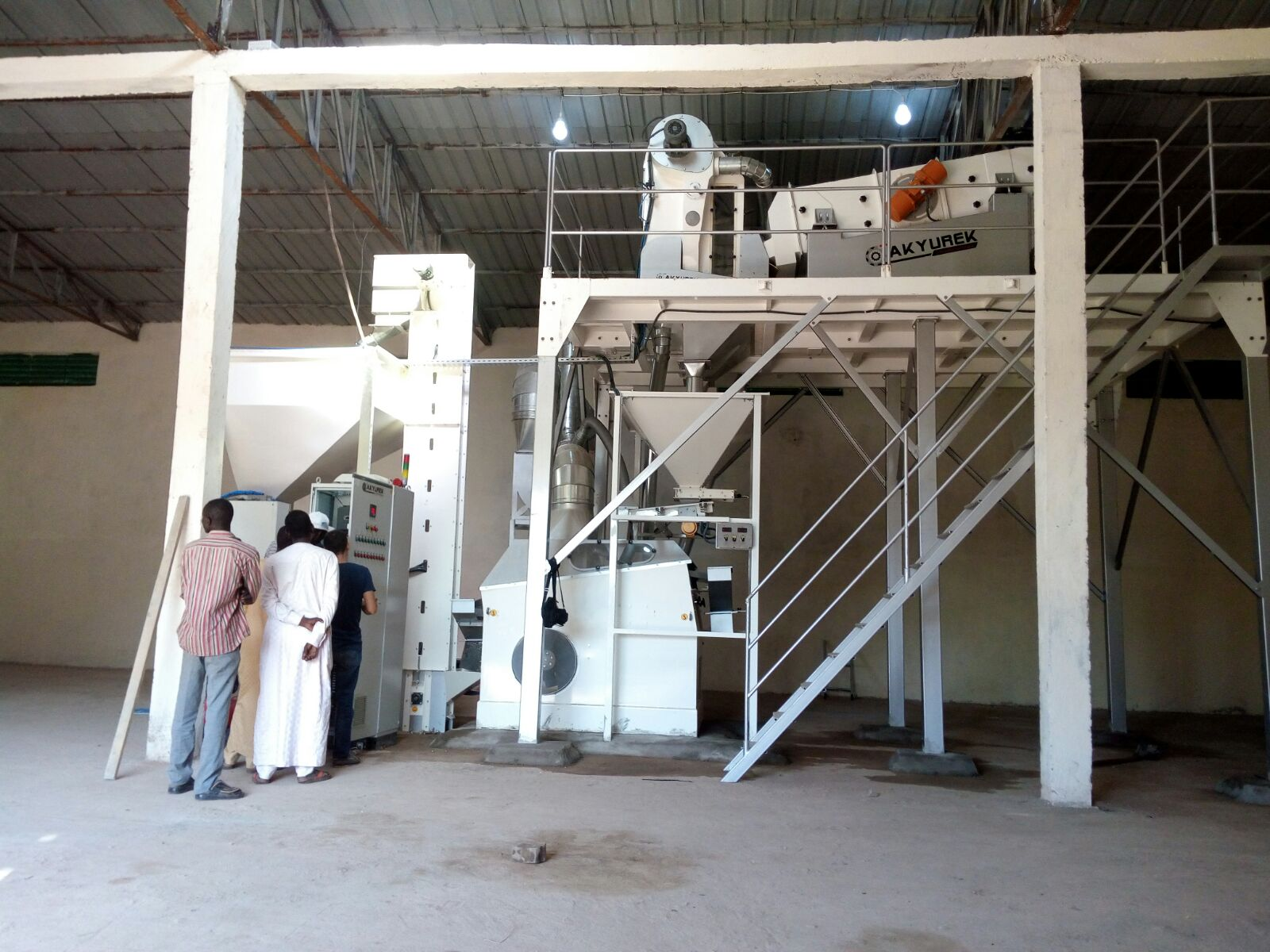 6 T/H Sesame Seed Cleaning Plant