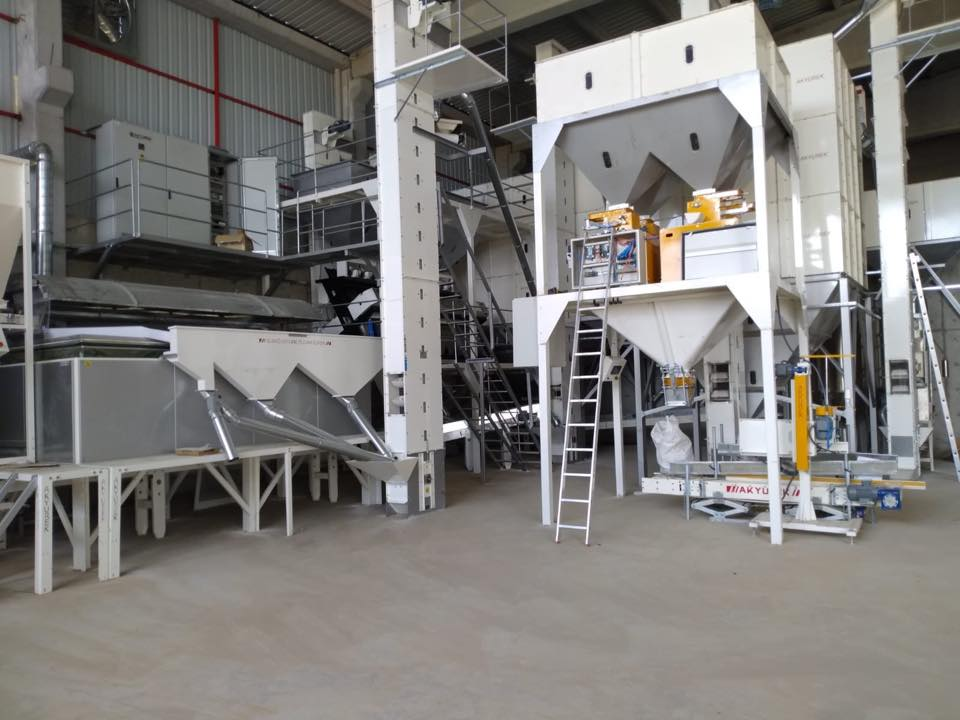 Barley & Wheat Seed Screening and Cleaning Plant
