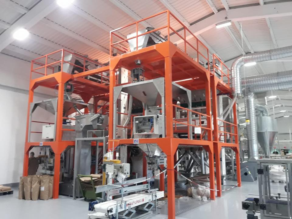 PLC Packing & Bagging Plant