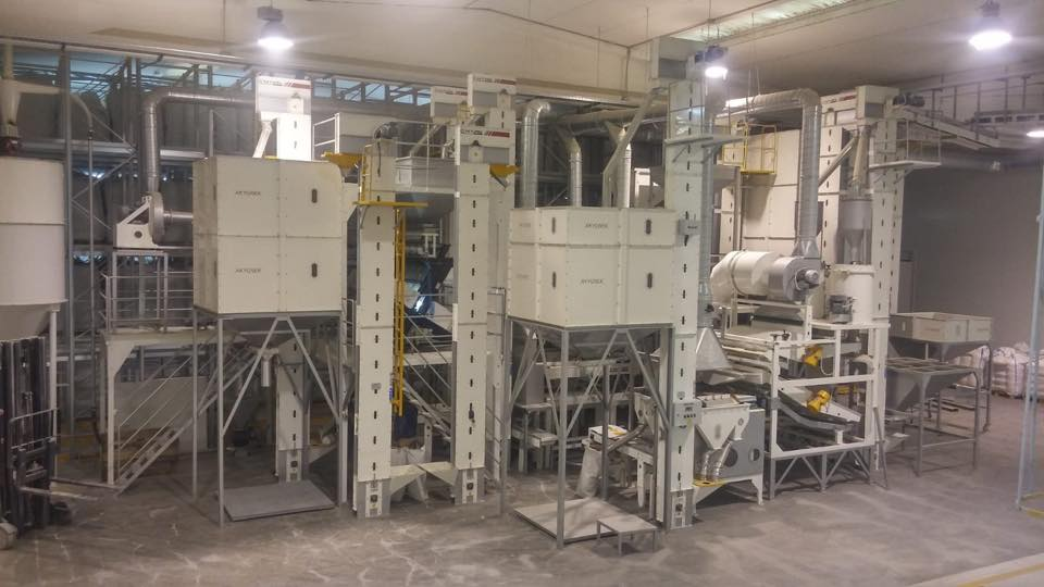 Italy Pulse Hulling and Spliting Plant