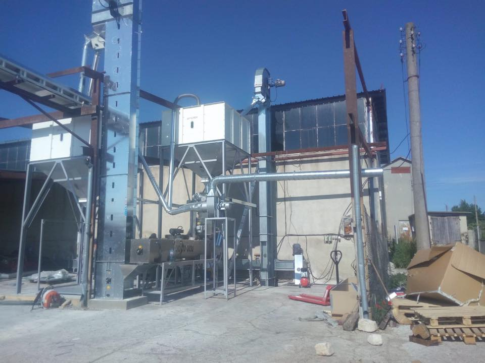 Bulgaria Chickpea & Wheat Screening Plant