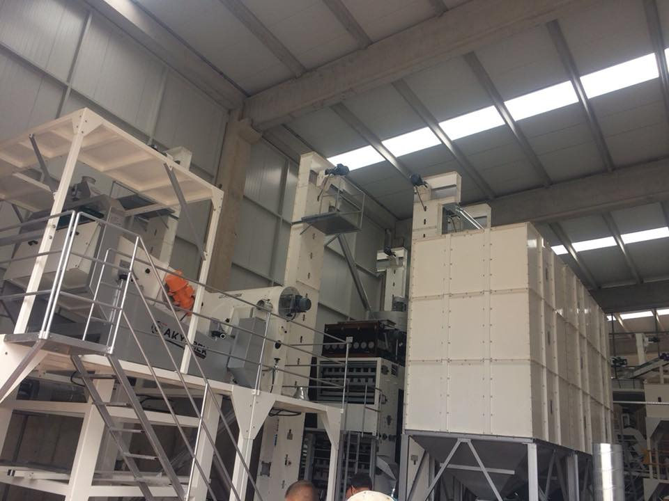 Seed Screening and Cleaning Plant -  10 Ton Hours
