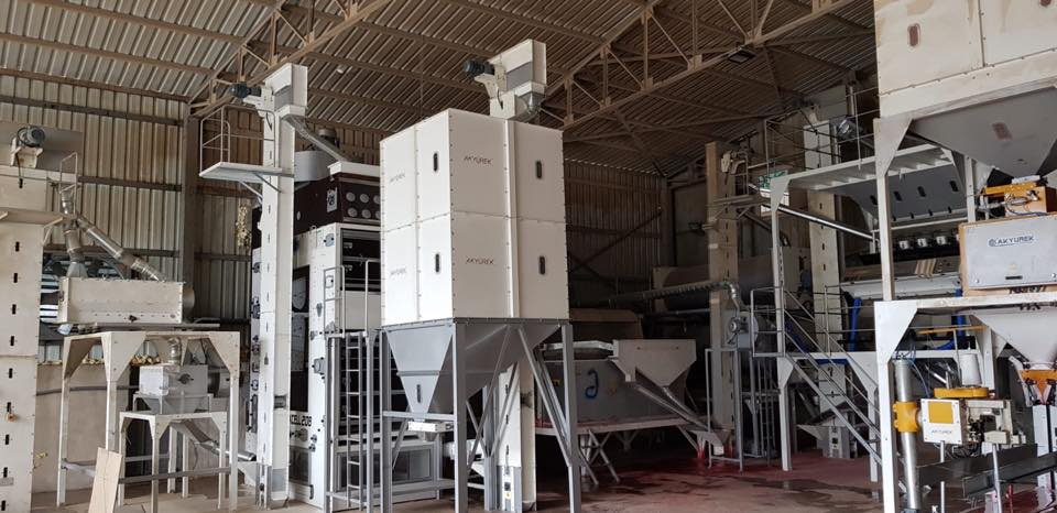Seed Screening and Cleaning Plant - 5 Ton Hours