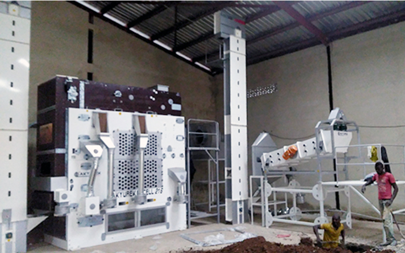 Nigeria Abuja Sesame Seed Cleaning Plant