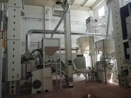 Barley Seed Screening, Cleaning and Packing Plant