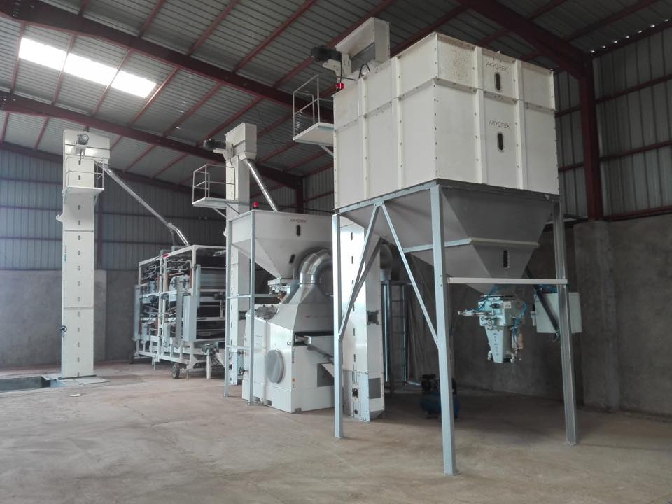 Sudan Sesame Screening Plant