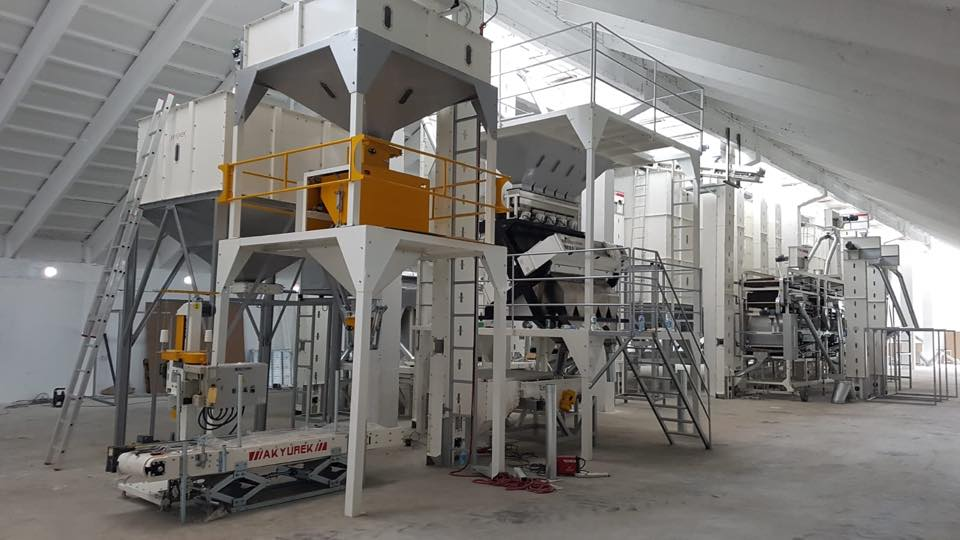 Bulgaria chickpea Screening and Cleaning Plant