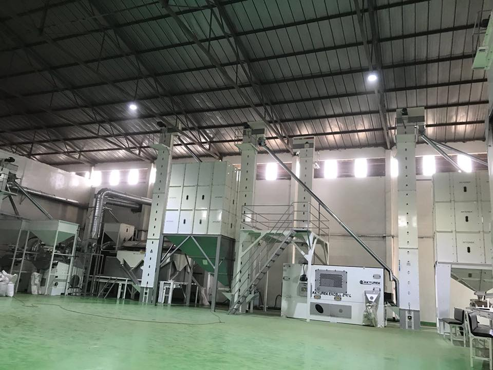 Ethiopia Sesame Screening and Cleaning Plant