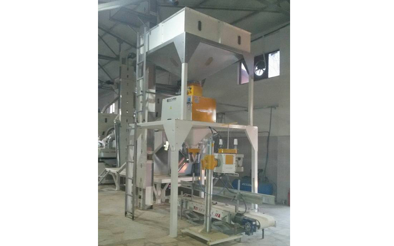 Aniseed cleaning plant with 1.5T/H