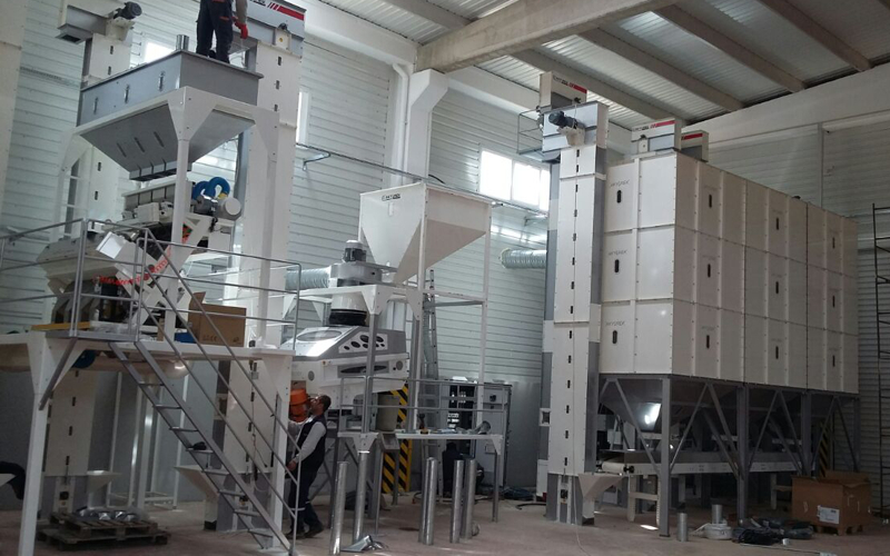 New plant by EVNOVA GIDA/GAZİANTEP company.