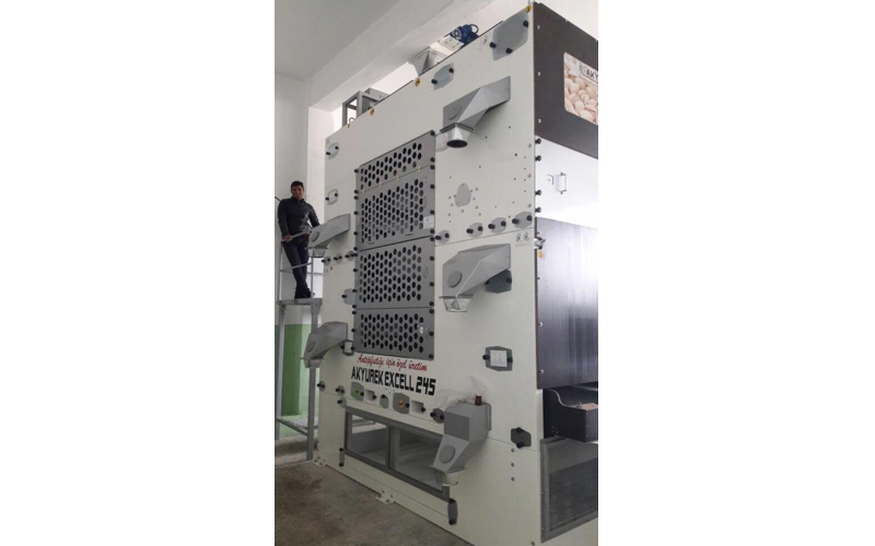 Seed Grading Machine Installation Has Successfully