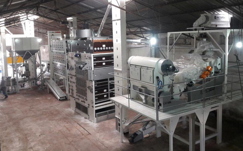 Seed Sieving and Cleaning Plant 10T/H Capacity