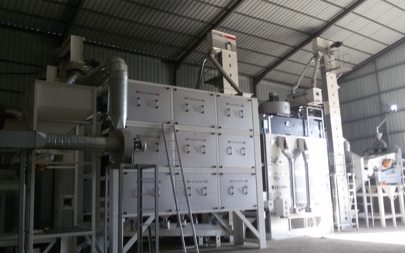 Seed Processing Plant in Iraq