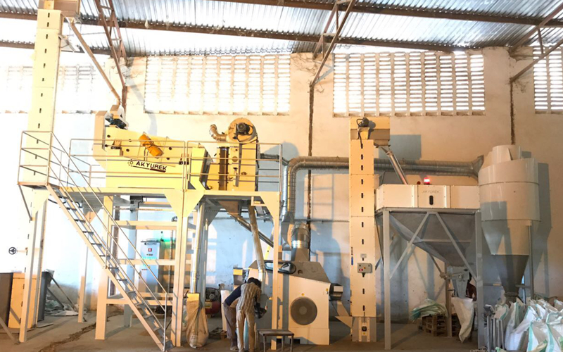 Tanzania Sesame Seed Cleaning Plant