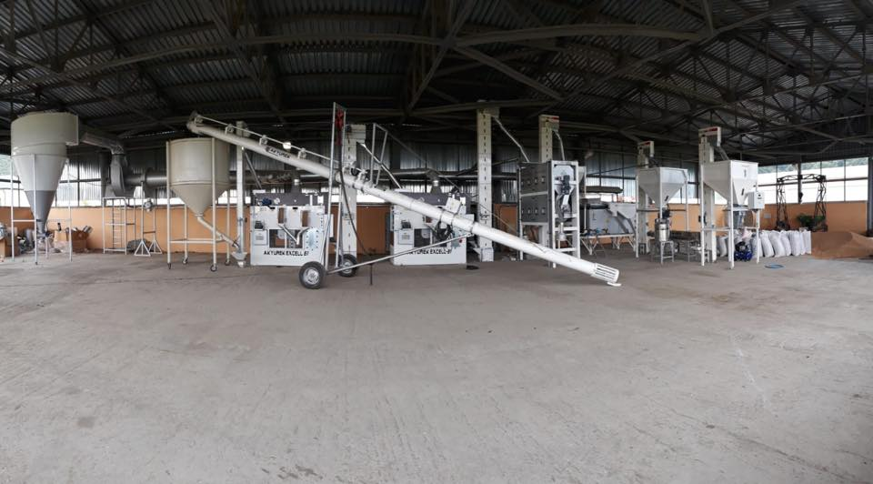 3T/H Azerbaijan Seed Cleaning and Processing Plant